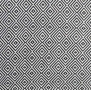 Diamond Muster schwarz