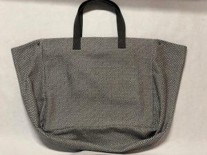 XL Shopper Diamond Muster grau - Druckknöpfe seitlich offen