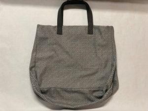 XL Shopper Diamond Muster grau - seitlich kleiner gestellt