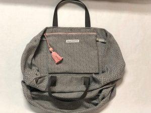 XL Shopper Diamond Muster grau - offen mit Innentasche