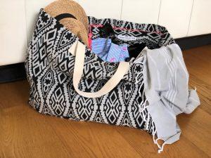 XL Shopper voll bepackt für vier Personen